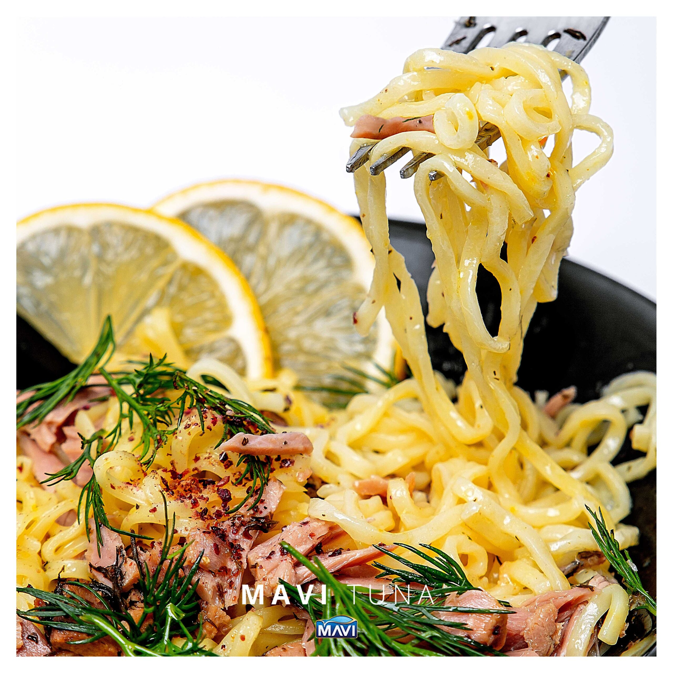 Fish with dill flavor